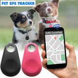 Pets Smart Mini GPS Tracker Anti-Lost Waterproof Bluetooth Tracer For Pet Dog Cat Keys Wallet Bag Kids Trackers