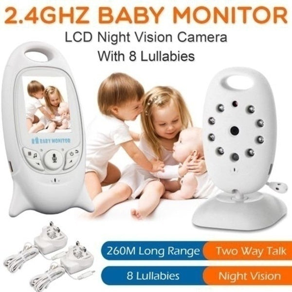 New Wireless 2.4 GHz 2.0inch Baby Monitor Digital Video Audio Nanny Security Camera Babyphone