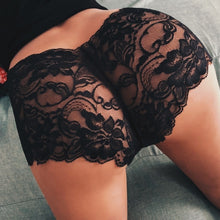 Load image into Gallery viewer, Charmful Girl High Waist G string Brief Pantie Thong Lingerie Knicker Lace Underwear S M L XL