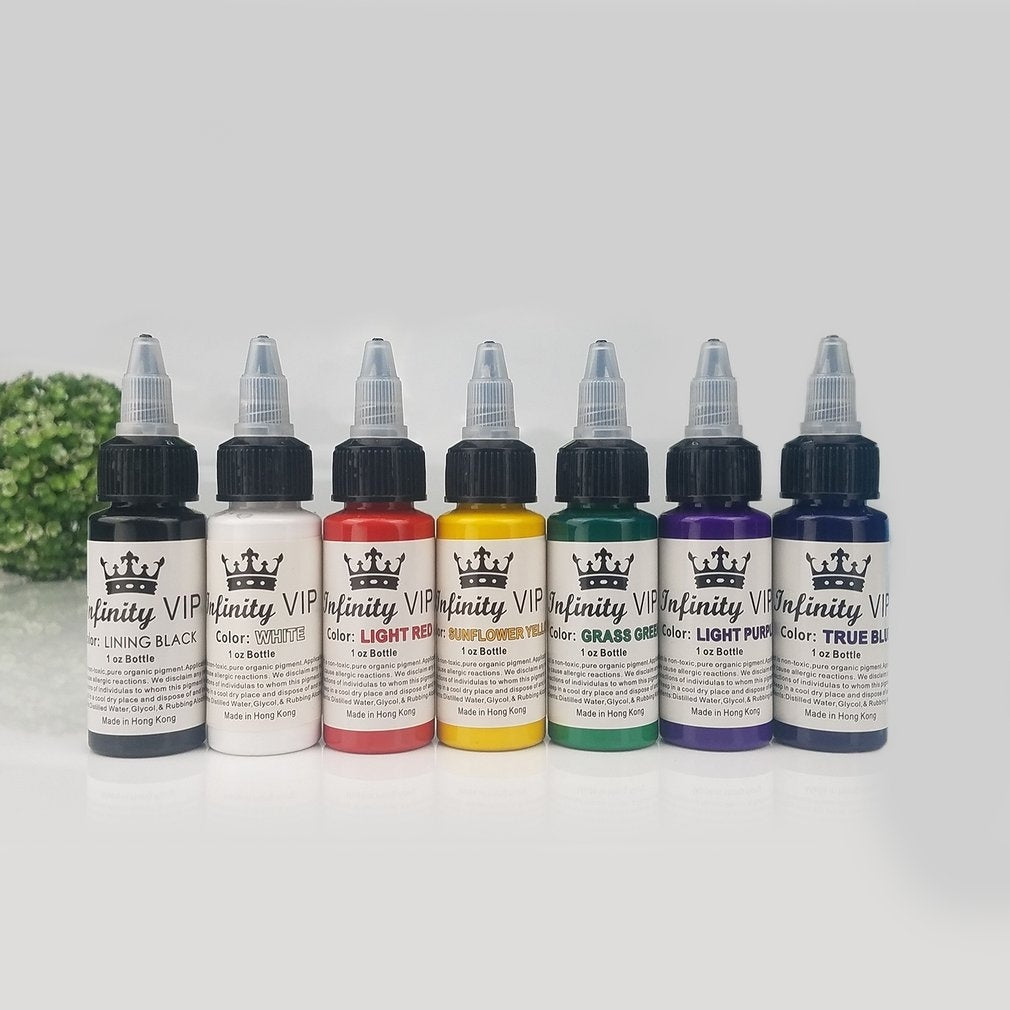 Natural Pure Plant Tattoo Pigment Permanent Makeup Tattoo Ink Pigment Supplies