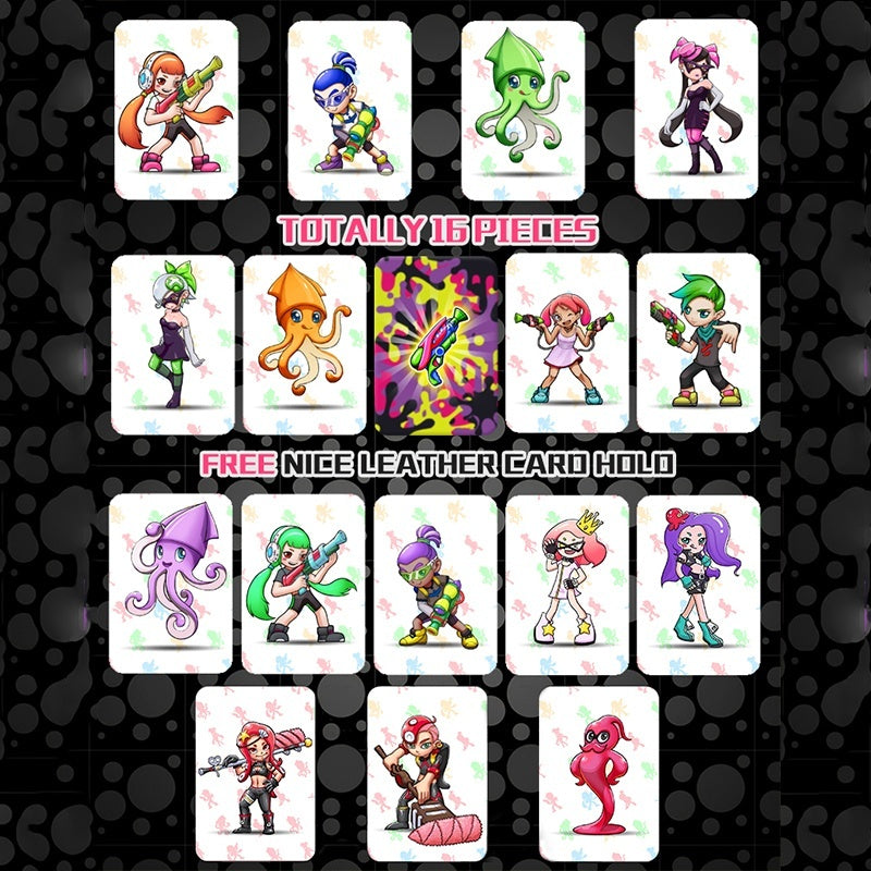 16 Pcs/13 Pcs /1Pc All Switch Amiibo Tag Cards Spl ato on Link Chatacters