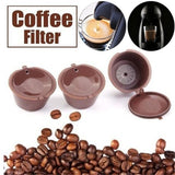4/3/2/1Pcs Refillable Coffee Capsule Cup For Dolce Gusto Nescafe Reusable Filter Pods