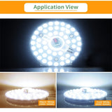 AC110V / 220V Indoor and Outdoor Lamp Lighting Source LED Light Panel 12W 18W 24W 36W Module Bulb LED Round Ceiling Tube For living room