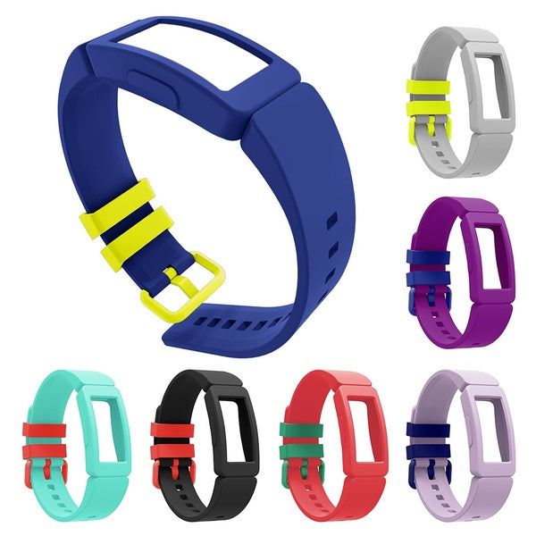 Durable Silicone For Kids Replacement Watch Strap for FitBit Inspire Ace 2