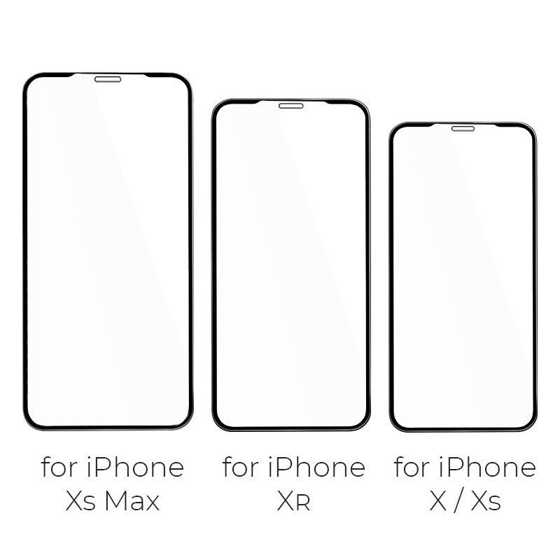 iPhone 10D Curved Full Cover Protective Glass Film For iPhone X / Xs / Xr / Xs /11/11 Pro/11 Pro Max/5/6/7/8/6 Plus/6s Plus/7 Plus/8 Plus