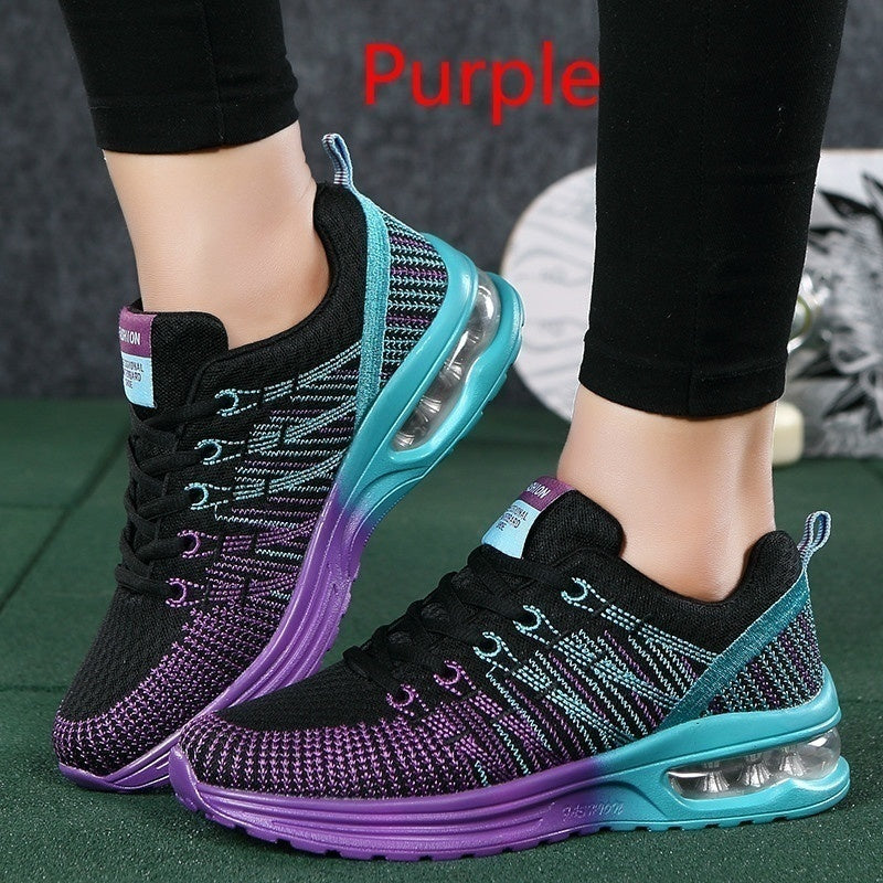 Women's Fashion Breathable Comfortable  Running Athletic Sport Shoes