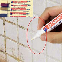 Load image into Gallery viewer, 2/3 Pcs Home Decor Tile Marker Repair Wall Pen White Grout Marker Odorless Non Toxic for Tiles Floor