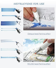 Load image into Gallery viewer, Marker Art Sketch Marker Pen for Artist Manga Graphic Broad Double Brush Pen 30/36/40/48/60/72/80 Colors_QOV