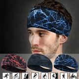Sports Sweat Headband Yoga Hair Bands Running Cycling Dance Fitness Sweatband Gym Anti Sweat Bands