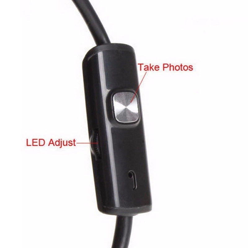1-5M 6LED 5.5mm Android Endoscope Waterproof Snake Borescope USB Inspection Camera Universal