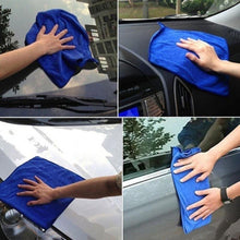 Load image into Gallery viewer, 2/5/10/20Pcs cleaning towel Soft Cloths towels Cleaning Duster Microfiber Car Wash Towel Water Absorption Anti-Static Wash Towel