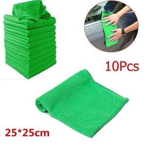 2/5/10/20Pcs cleaning towel Soft Cloths towels Cleaning Duster Microfiber Car Wash Towel Water Absorption Anti-Static Wash Towel