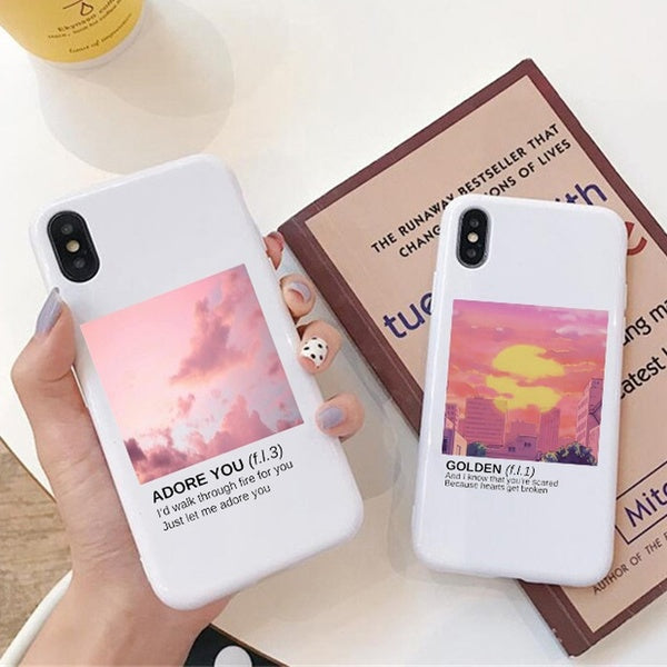 Harry Styles Love on Tour 2020 Phone Case for Iphone 8 8plus IPhone X Iphone 6/6S Plus 7/7 Plus IPhone 11/11 Pro Case Colorful IPhone Case