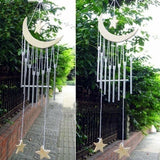1PC Lovely Moon Star Bells Wind Chimes Windchime Outdoor Garden Yard Home Decor