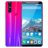 Hot Sale X27 Plus Android 8.0 Smartphone 5.8 Inches Large Memory 4GB+64GB Ultra-thin Face/fingerprint Unlock Dual Card Phone Supports T-card Smartphone