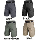 Mens Waterproof Tactical Cargo Shorts Pentagon Tactical Military Army Cargo Hiking Combat Shorts