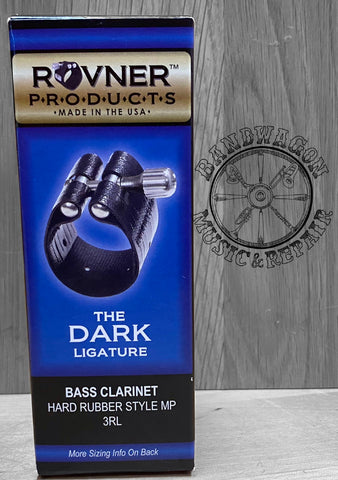 Rovner Bass Clarinet Hard Rubber Dark Ligature