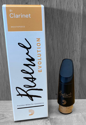 D'Addario Reserve Evolution Clarinet Mouthpiece Model