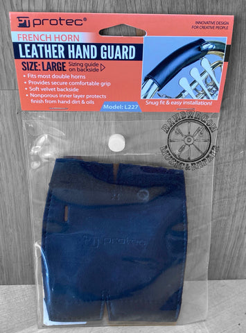 Protec French Horn Leather Hand Guard (Large Size)