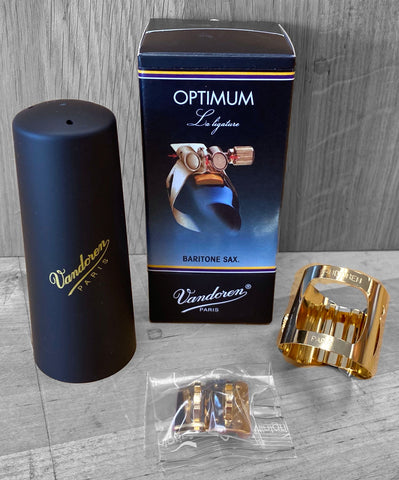 Vandoren Optimum Ligature - Bari Sax (Gold-Plated)