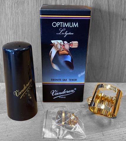 Vandoren Optimum Ligature - Tenor Sax (Gold-Plated)