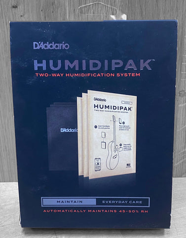 D'Addario Humidipak 2-Way Humidification System