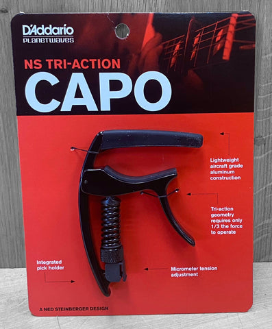 D'Addario NS Tri-Action Capo