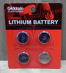 D'Addario Lithium Battery Replacement 4 Pack