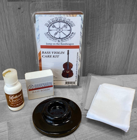 Bass Violin Care Kit