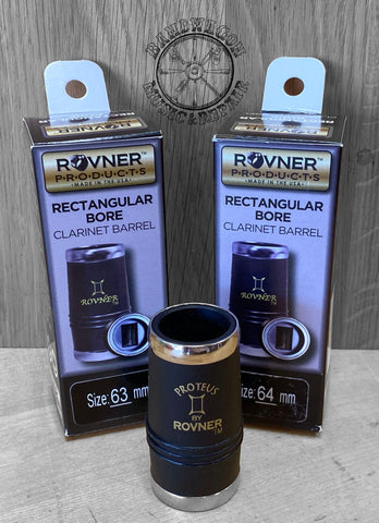 Rovner Rectangular Bore Clarinet Barrel