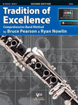 Tradition of Excellence for Band - Book 2