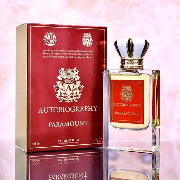 Autobiography Paramount By Paris Corner Eau De Parfum 50ml Retail Pack