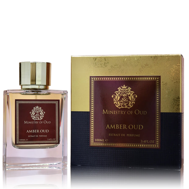Amber Oud By Ministry Of Oud Paris Eau De Parfum 100ml Retail Pack