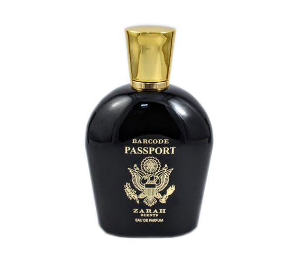 BARCODE PASSPORT BLACK MEN 100ML
