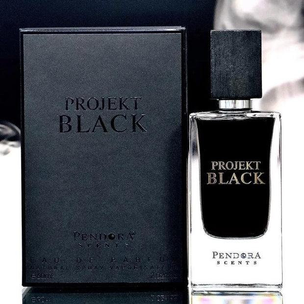 Projekt Black By Paris Corner Eau De Parfum 60ml Retail Pack