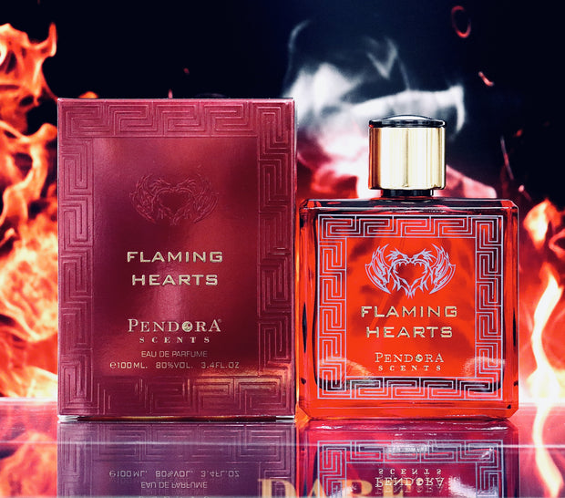 Flaming Hearts By Paris Corner Eau De Parfum For Men 100ml