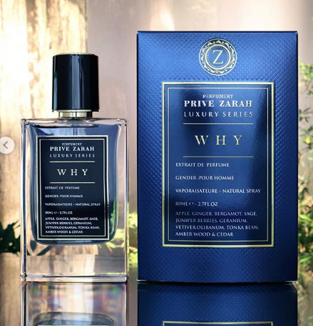 WHY By Privezarah Pari Corner Eau De Parfum 100ml Retail Pack