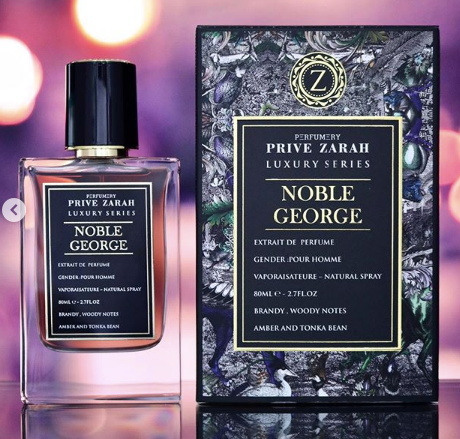 NOBLE GEORGE BY PRIVEZARAH PARIS CORNER EAU DE PARFUM 100ML RETAIL PACK