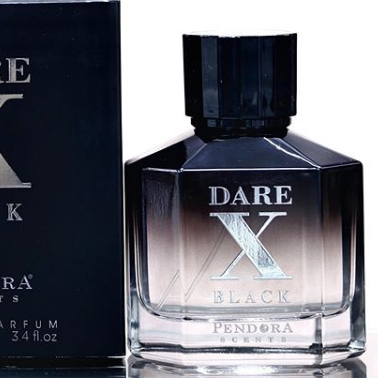 Dare X Black By Pendora Scents Paris Corner 100ml Retail Pack