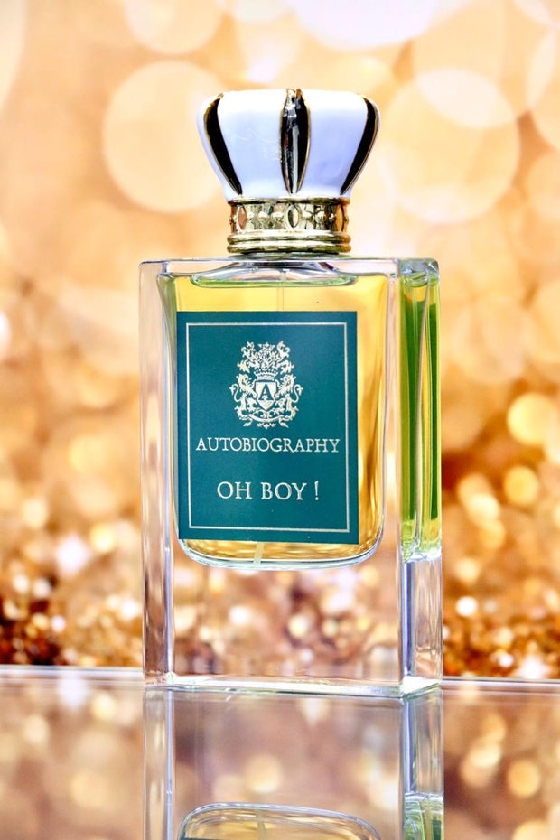 Oh Boy ! Autobiography By Paris Corner Eau De Parfum 50ml Retail Pack