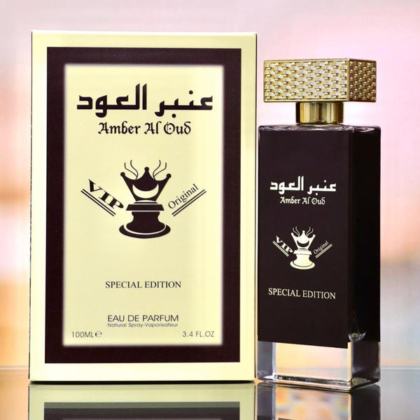 Amber Al Oud VIP Original By Paris Corner Eau De Parfum 100ml Retail Pack