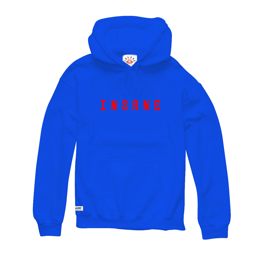Men's Spell Out Hoodie (ROYAL BLUE)