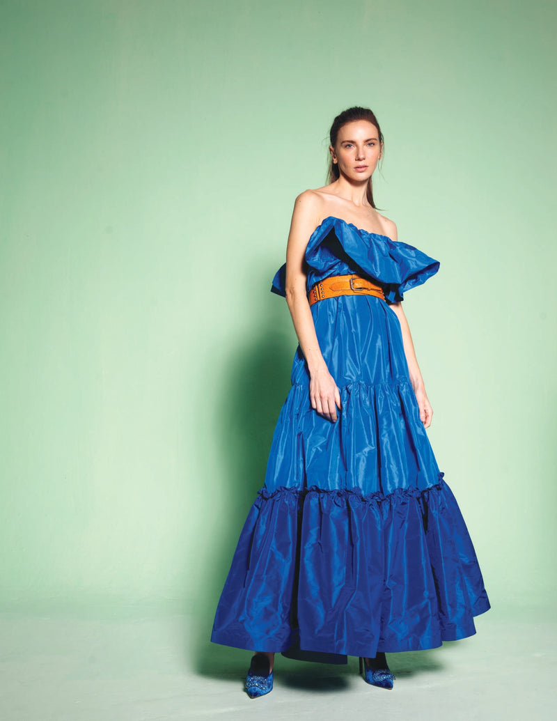 Azul Profundo Dress