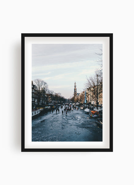 Frosty Canal II - Amsterdam