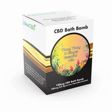 Load image into Gallery viewer, LVWELL CBD BATH BOMB 100MG 135G