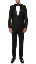 Load image into Gallery viewer, The Artemis Mens Geometric Slim Fit 2pc Tuxedo - Ferrecci USA
