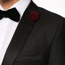 Load image into Gallery viewer, The Artemis Mens Geometric Slim Fit 2 Piece Tuxedo - Ferrecci USA