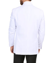 Load image into Gallery viewer, Ferrecci Men's Aura White Slim Fit Peak Lapel Tuxedo Dinner Jacket - Ferrecci USA