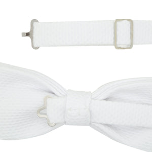 Ken White Cotton PK Bowtie - Ferrecci USA