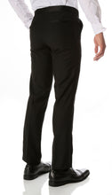 Load image into Gallery viewer, CROMWELL Slim Fit Black Tuxedo Pants - Ferrecci USA